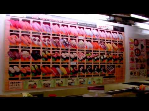 0 Sushi Restaurant in Japan  Part 1