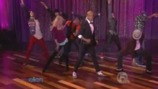 This Is It dancers - Michael Jackson - Live On Ellen Show 10-29-2009