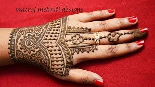 Beautiful Henna Mehndi Jewellery : Matroj mehndi designs viyoutube