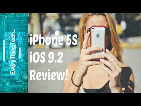 iPhone 5S iOS 9.2 Review!