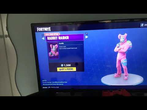 New rabbit raider skin out thumbnail