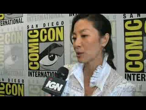 SDCC 08: The Mummy Michelle Yeoh Interview Video