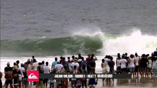 Time Tunnel  Julian Wilson  Quiksilver Pro Gold Coast