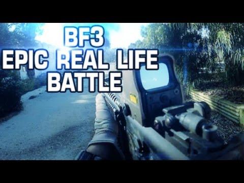 Battlefield 3 en la vida real, un corto asombroso