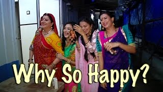 Swara and Ragini aka Helly and Tejaswi HAPPY DANCE | Watch out to know why the duo are so happy