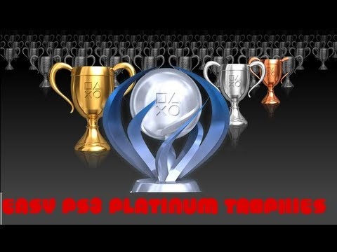 Easy Ps3 Platinum Trophies Part 2      How to level up on psn fast