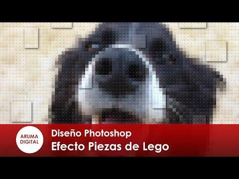Photoshop 245 Composición Retrato Con Piezas De Lego