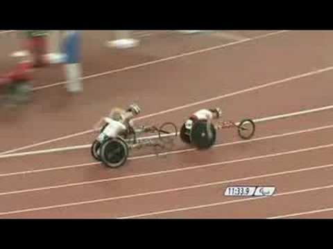 Contraversial Wheelchair Crash