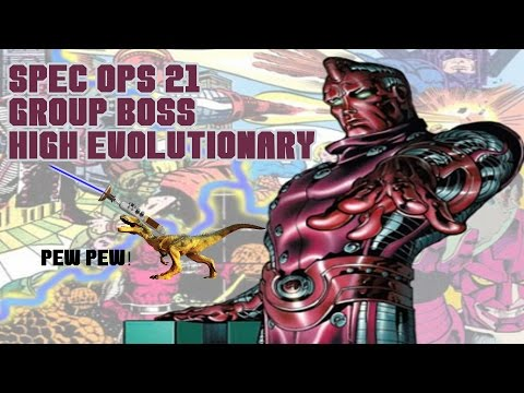 Marvel Avengers Alliance: Group Boss High Evolutionary