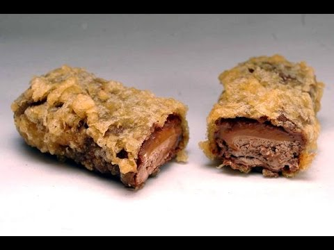 Deep Fried Mars Bars - RECIPE