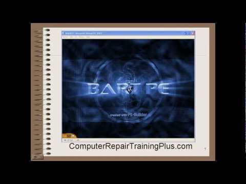 BartPE Live Windows Rescue CD