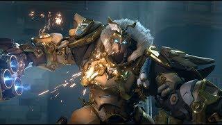?MAD?Overwatch -?Reinhardt the brave warrior?opening anime ver.