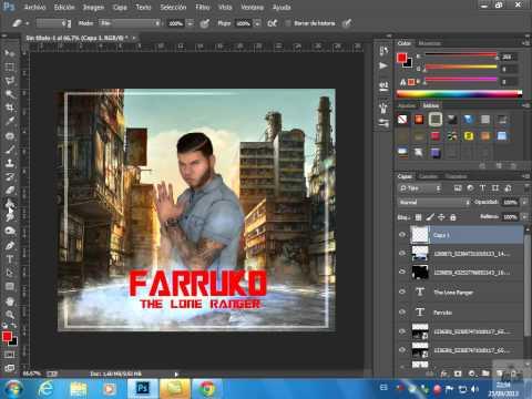Tutorial Basico | Crear Tu Imagen o Mini Cover Con Photoshop