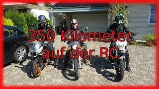 KTM RC 125/ Langstreckentest!