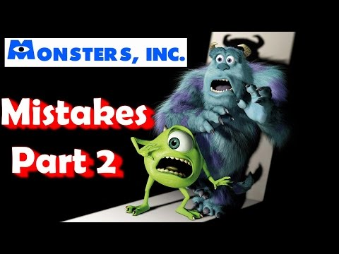 Monsters Inc. Movie Mistakes, Goofs and Fails Pt 2
