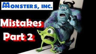 Monsters Inc. MOVIE MISTAKES, , Facts, Scenes and Fails Part 2