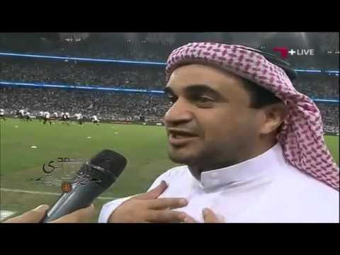 الاهلي × الشباب   تصريح رئيس الشباب خالد البلطان قبل بداية اللقاء   نهائي كاس الملك 2014 م thumbnail