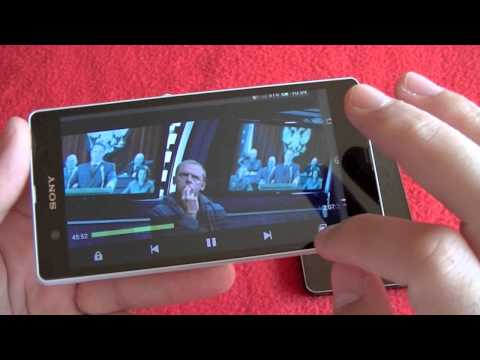 Sony Xperia Z frente LG Optimus G. comparativa