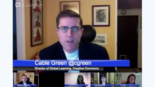 GETIdeas Education Hangout on Air - The Future of Digital Content