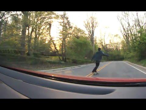 Skater Gets Road Rash Caught On Film!