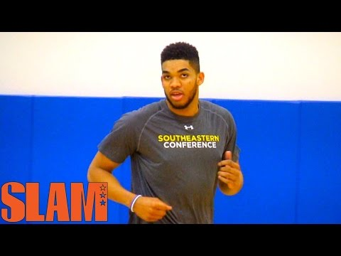 Karl Anthony Towns 2015 NBA Draft Workout - QUICK SHOOTING VIDEO