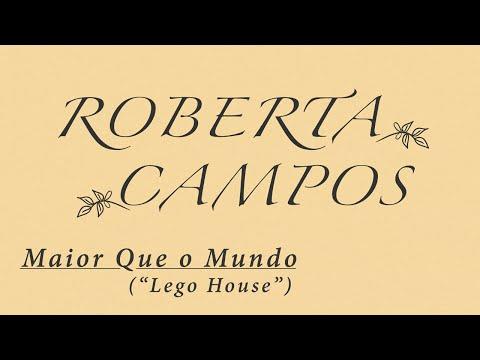 Roberta Campos Maior Que o Mundo Lego House Lyric Video