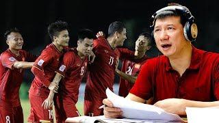 Việt Nam sẽ vô địch nếu chơi đúng phong độ, với một cái đầu lạnh, một trái tim hồng | BLV Quang Huy