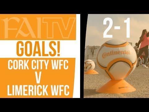 GOALS: Cork City WFC 2-1 Limerick WFC