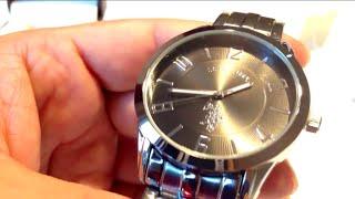 U.S. Polo Assn. Classic USC80038 Analogue Black Dial Bracelet Watch Review