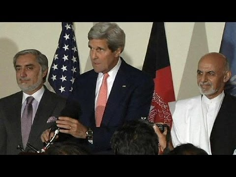 Afghanistan : John Kerry sort le processus électoral de l'impasse