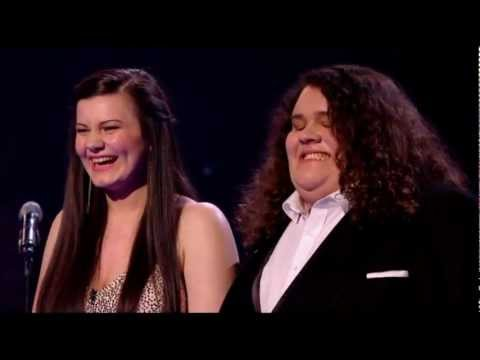 Jonathan &amp; Charlotte - The Prayer IN FULL (Britain's Got Talent Final 2012)