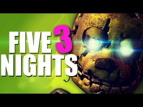 MIS VECINOS SE ENFADAN D:   Five Nights at Freddy's 3