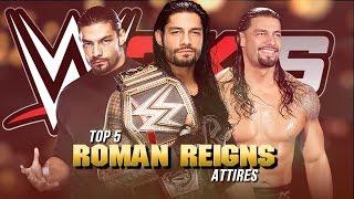 download lagu Wwe 2k16 - Top 5 Roman Reigns Attires Wwe/nxt/fcw gratis