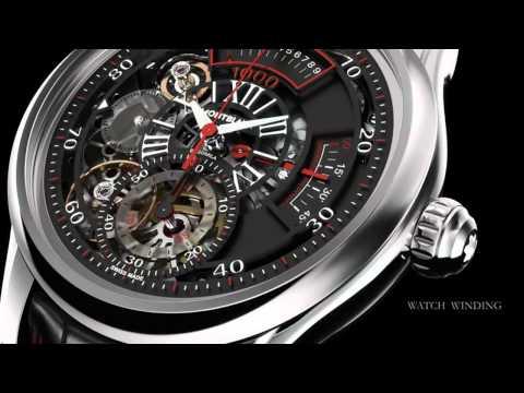 Montblanc   TimeWriter II Chronograph