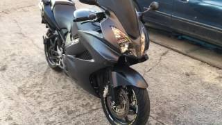 Honda VFR 800 VTEC with GPR exhaust