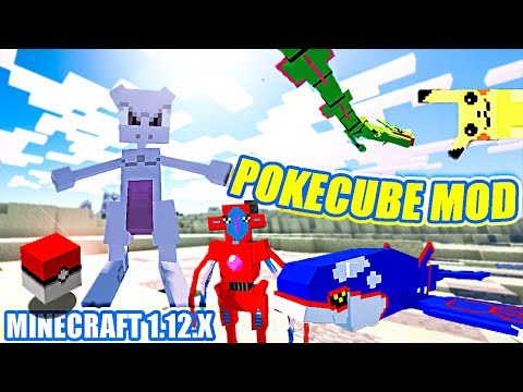 POKÉMON en MINECRAFT 1.12.x ! - POKECUBE REVIVAL MOD - REVIEW & DESCARGAR MOD - PIXELMON 1.12 (?)