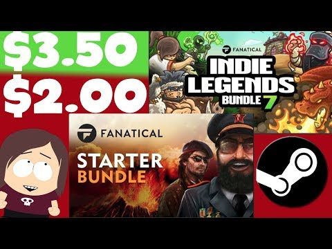 Great Game Bundles: Fanatical Starter & Indie Legends 7