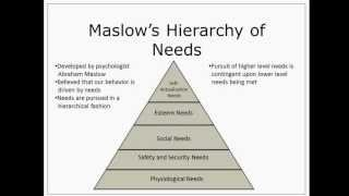 Maslow's Hierarchy of Needs | Episode 21
