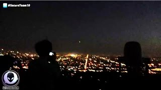 Mass UFO Sighting Over Los Angeles With Multiple Sources 9/6/2015