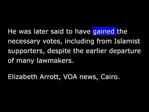 VOA news for Tuesday, May 6th, 2014