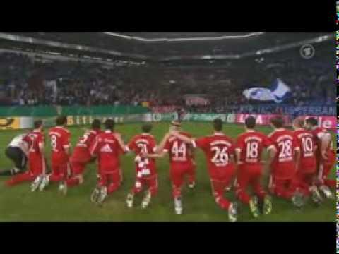 Arjen Robben Tor -  Fc Schalke 04 - Bayern München 0:1 (DFB Pokal Halbfinale 2010)