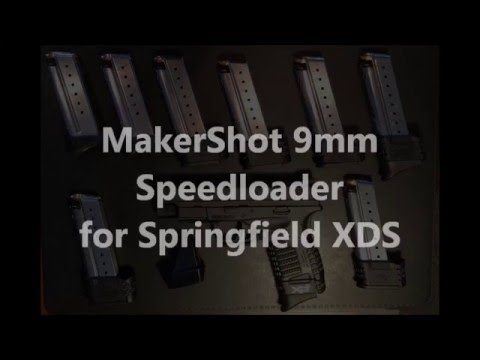 MakerShot 9mm speedloader review - best singlestack loader on the market
