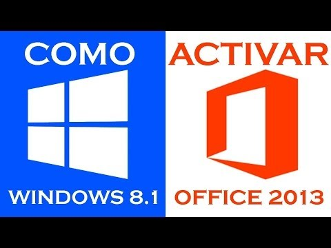 Como Activar Windows 8.1 y Office 2013 I 32 y 64 Bits I Permanente I Metodo Final I 100 % Funcional