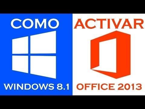 Como Activar Windows 8.1 y Office 2013 I 32 y 64 Bits I Permanente I Metodo Final I 100 % Funcional
