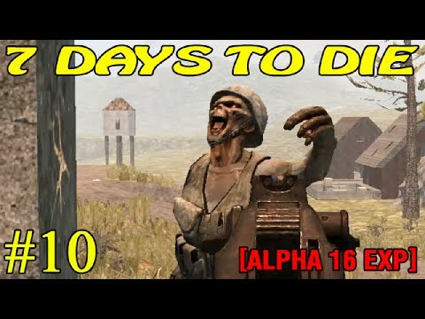 7 Days to Die Alpha 16 ► Осмотр бункера ► №10  (16+)