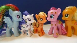 """""""Những Chú Ngựa Con"""" """"Rarity Và Apple Jack"""" Mới 2015 (Bí Đỏ)My little Pony POP Rarity & Apple Jack"""