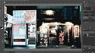 Gimp 2.10: Masashi Wakui Look