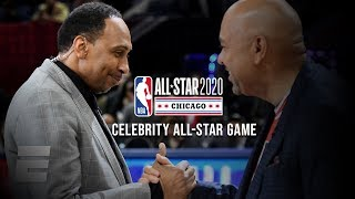 2020 NBA Celebrity All-Star Game Highlights: Team Stephen A. Smith vs. Team Michael Wilbon