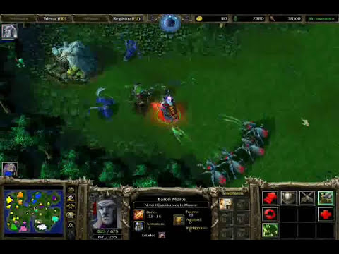 gameplay warcraft 3: frozen throne (parte 1) (muertos vivientes)