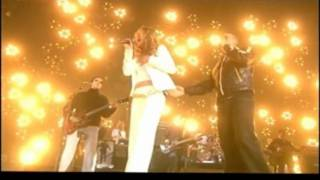 Robbie Williams & Joss Stone- HD - Angels (Brit Awards 2005)